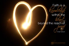 Faith and knowledge