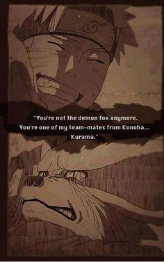 Ora non sei più il demonevolpe sei uno dei miei compagni di squadra di Konoha Kurama