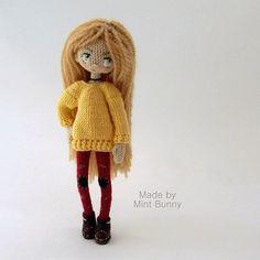 Снимается только шапка и снуд. Умеет стоять сама. Рост 19 см, если с шапкой ☺ #mintbunnydolls#doll#crochetdoll#handmade#handmadedoll#muñeca#crochet#weamiguru#amigurumi#amigurumidoll#кукла#хобби#братск#bratsk#ручнаяработа#амигурумикукла#амигуруми#вязание#вязаниекрючком#кукларучнойработы#вяжутнетолькобабушки#hechoamano#вязанаякукла #mintbunnystyle
