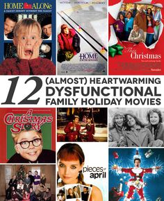 Because Netflix is cheaper than therapy, here are twelve dysfunctional family holiday movies to make you feel better about your own family. Holiday Movies, Christmas Movies, Winter Christmas, All Things Christmas, Xmas, Netflix, Peppermint Mocha, Dysfunctional Family, Practical Wedding