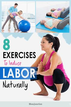 8 Effective Exercises To Induce Labor Naturally Maria was being rushed into the labor room. Her husband was all tense about her delivery and the pain she would undergo. Pregnancy Labor, Pregnancy Workout, Pregnancy Videos, Pregnancy Fitness, Baby Workout, Pregnancy Quotes, Pregnancy Announcements, Pregnancy Style, Pregnancy Outfits