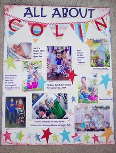 Start student of the week posters - great way to introduce students to the class.