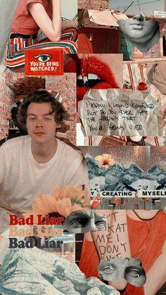 Aesthetic Backgrounds, Aesthetic Iphone Wallpaper, Aesthetic Wallpapers, Retro Wallpaper, Harry Styles Lockscreen, Harry Styles Wallpaper, One Direction Harry, One Direction Pictures, Larry Stylinson