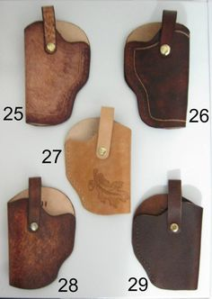Leather Gun Holsters Ultra Small to Large Caliber Handguns image 4 Xds 45 Holster, Holsters, Diy Camping, Vegetable Tanned Leather, Leather Tooling, Hand Guns, Etsy, Unique Jewelry, Handmade Gifts