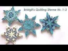 Bridgit's Quilling Autumn Leaves (Tutorial) - YouTube