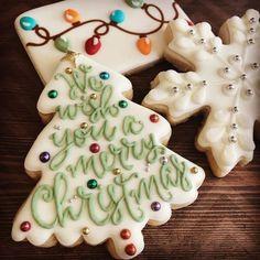Christmas Sugar Cookies, Christmas Sweets, Christmas Cooking, Noel Christmas, Holiday Cookies, Holiday Desserts, Holiday Baking, Summer Cookies, Valentine Cookies
