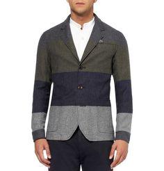 Oliver SpencerPlymouth Slim-Fit Striped Cotton-Blend Blazer