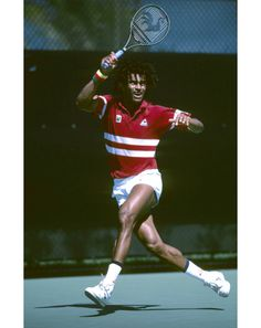GQ.com: 5. Yannick Noah   Known to a new generation as aggro Chicago Bulls' center Joakim Noah's pop, Yannick was a style icon in his day. As the last Frenchman to win the French Open, 28 years ago, he remains a hero in his home country. But mostly, he's here because of the dreads..