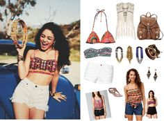 """Tribal style"" by festivalmode ❤ liked on Polyvore"