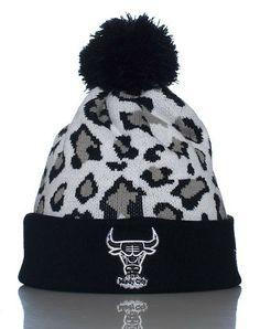 NEW ERA: SNOW LEOPARD CHICAGO BULLS BEANIE $19.99