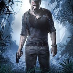 A Thief's End Uncharted 4 Computer Video Game Poster Print Wall Art Large Maxi Playstation Games, Ps4 Games, Games Consoles, Xbox, Video Game News, Video Game Art, Nathan Uncharted, Caricature, A Thief's End