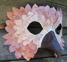 half paper plate masks - Google Search
