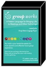 Welcome to the Group Pattern Language Project A Pattern Language, Future Group, Deck Of Cards, Card Deck, Welcome To The Group, Color Card, Colour, Effective Communication, Life Organization