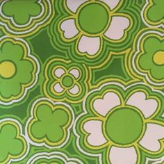 Daisy A Day Retro Green Floral Wallpaper - Vintage sixties Original Hippie Wallpaper, Retro Wallpaper, Aesthetic Iphone Wallpaper, Aesthetic Wallpapers, Dark Wallpaper, Photo Wall Collage, Picture Wall, Collage Art, Poster Wall