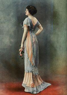1910s Evening Dress Evening gown by bernard