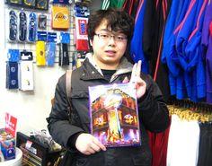 【新宿2号店】 2013年2月3日  明日開催のスーパーボウルプログラムをお買い上げ頂いた福田様のご紹介です♪  いやぁ両者とも負けられない戦い見逃せませんね!