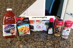 Unboxing my Hello Flavour VoxBox! Good Food, Yummy Food, Maple Bacon, Poutine, Amazing Recipes, Yummy Drinks, Smoothies, Club, Meals
