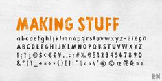 Check out the Lino Stamp font at Fontspring. Lino Stamp is a geometrical, sans-serif typeface.
