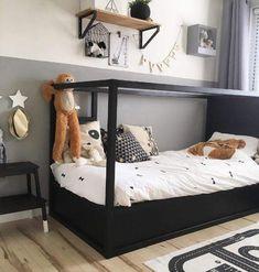 100 Beautiful Kids Bedroom Decoration Ideas « Diy Decoration For Home Boys Bedroom Decor, Baby Bedroom, Girls Bedroom, Ikea Kura Bed, Kura Bed Hack, Ideas Habitaciones, Kids Room Design, Kid Beds, Boy Room