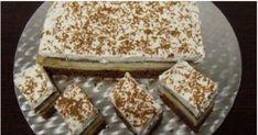 Acest desert are blat de bezea si creme delicioase, de vanilie si cacao. Ingrediente Zahar – 5 linguri (pentru blat I) + 8 linguri (pentru crema) Faina – 5 linguri (pentru blat I) + 2 linguri (pentru crema) Praf de copt – 1/2 lingurita (pentru blat I) Cacao – 2 linguri (pentru blat I) + … Deserts, Food And Drink, Bread, Brot, Postres, Baking, Breads, Dessert, Buns