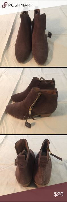 New Look suede booties These are brand new. Perfect condition New Look Shoes Ankle Boots & Booties
