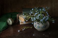 Forget-me-not. by Elena Kolesneva on 500px