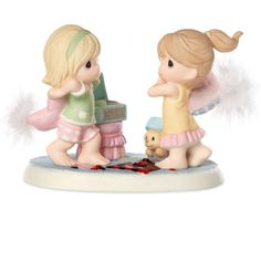 2016 Collectors' Club Kit & Symbol Of Membership - A Friend Is Life's Greatest Blessing - Precious Moments Precious Moments Quotes, Precious Moments Figurines, Biscuit, Genuine Friendship, Friendship Quotes, Disney Figurines, Find Color, Pillow Fight, Life S
