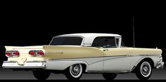 1958 Ford Fairlane 500 Skyliner Retractable Hardtop 50s Cars, Retro Cars, Collectible Cars, Ford Lincoln Mercury, Ford Classic Cars, Ford Fairlane, American Pride, Amazing Cars, Cars And Motorcycles
