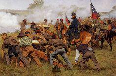 Jackson and the Rockbridge Artillery at Port Republic