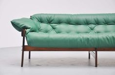 Percival Lafer Lounge Sofa, Brazil, 1960
