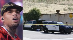 Chris Brown was arrested Tuesday on suspicion of assault with a deadly weapon after an hourslong standoff with police who responded to a