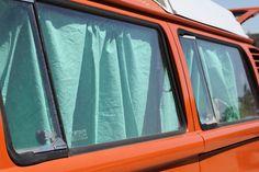vw bus curtains tutorial for your westfalia