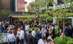Perth's best rooftop bar is open at the Print Hall. Join us for after work drinks at our rooftop bar, or make a booking online. Perth Bars, Ventura Homes, Function Room, Event Venues, Street View, City, Bobs, Outdoor, Night