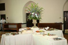 Dramatic Urn Arrangement  http://www.busseysflorist.com/bridal-wedding-flowers/