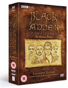 The Complete BlackAdder Digitally Remastered BBC TV Series DVD Collection (6 Discs) Box Set: Blackadder I / Blackadder II / Blackadder III / Blackadder goes fourth + Exclusive Extras: Commentaries+Extended Interviews