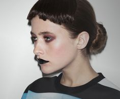 MAC is going for it with their new totalgothbabe black lipstick, Hautecore. Don't think it's for you? Check out how these NYLON ...