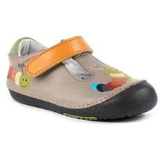 Momo Baby First Walker/Toddler Rainbow Caterpillar Tan T-Strap Leather Shoes - 4.5 M US Toddler Momo Baby http://www.amazon.com/dp/B00ACX1M3O/ref=cm_sw_r_pi_dp_l8o1ub0NNNAGQ