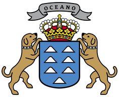 Escudo de las Islas Canarias - España. Canarias es una comunidad autónoma española, reconocida como nacionalidad, y una de las regiones ultraperiféricas de la Unión Europea. Está formada por siete islas principales: El Hierro, La Gomera, La Palma, Tenerife, Gran Canaria, Fuerteventura y Lanzarote, así como los islotes del Archipiélago Chinijo.
