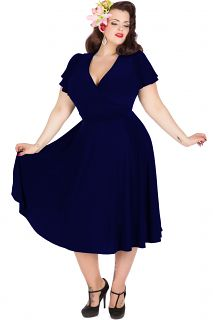 Vintage Dresses : Retro, 1950's Style from Lady V of London  Explore our amazing collection of plus size fashion styles and clothing. http://wholesaleplussize.clothing/