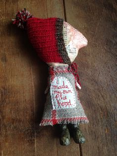 Julie Arkell at Loop : 'I made my own Pixie Hood'