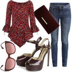 Bordeaux Vogue #fashion #mode #look #outfit #style #stylaholic #sexy #dress #trend
