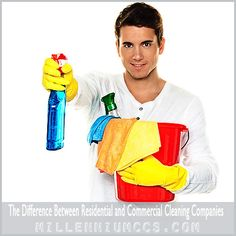 The Difference Between Residential and Commercial Cleaning Companies