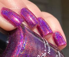 """KBShimmer - """"Tall Pink of Water"""" - Hella Holo Customs - February 2017"""