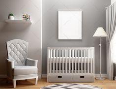 8x10 Mockup / Frame Mockup / Nursery Mockup / 8x10 by Positvtplus