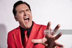 Actor Bruce Campbell of 'Ash vs Evil Dead' poses for a portrait at Getty Images Portrait Studio powered by Samsung Galaxy at Comic-Con International 2015 at Hard Rock Hotel San Diego on July 10, 2015 in San Diego, California.