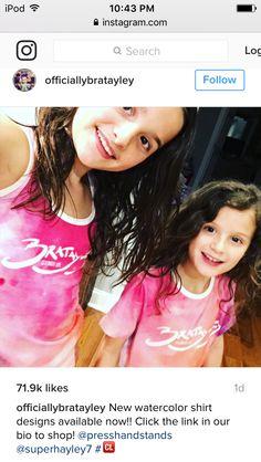Bratayley shirts @Bratayley @bratayley @presshandstands @superhayley7 @acroanna @elleyonyah