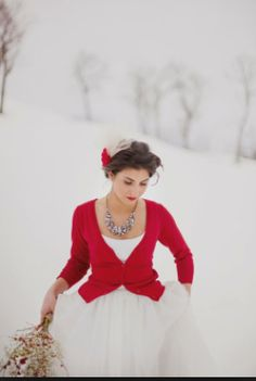 Shabby Valentine Wedding. or Christmas-winter wedding..simply beautiful