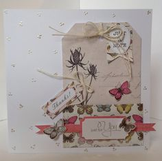 Card designed by Julie Hickey using Botanica Tag Pad and Botanica collection.