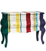 Buy Trip Trumeau Stripes Chest of Two Drawer Unit in Multicolour Finish by Seletti by Seletti online from Pepperfry. ✓Exclusive Offers ✓Free Shipping ✓EMI Available