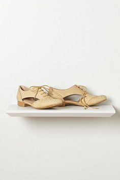 Sunbleached Oxfords #anthropologie  I could go for something like this but this color is too yellow
